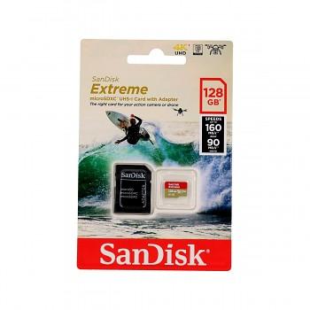 Paměťová karta SanDisk Extreme 128GB micro SDXC