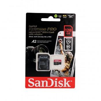 Paměťová karta SanDisk Extreme PRO 128GB micro SDXC