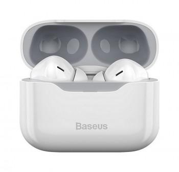 Bezdrátová sluchátka Baseus Simu S1 bílá