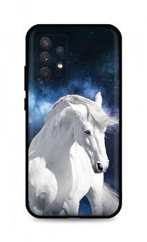 Zadní silikonový kryt DARK na Samsung A32 White Horse
