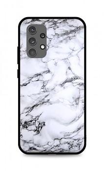 Zadní pevný kryt LUXURY na Samsung A32 Marble White