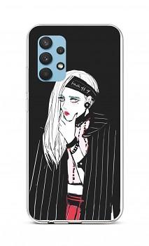Zadní silikonový kryt na Samsung A32 Dark Girl