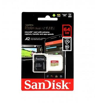 Paměťová karta SanDisk Extreme Plus 64GB micro SDXC