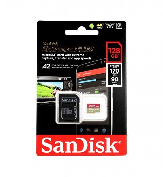 Paměťová karta SanDisk Extreme Plus 128GB micro SDXC