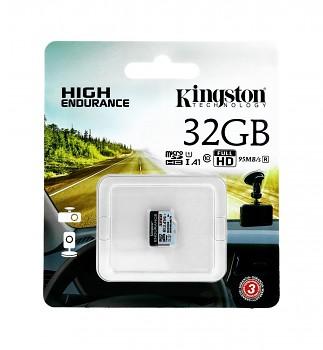 Paměťová karta Kingston 32GB micro SDHC High Endurance bez adaptéru