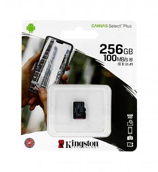 Paměťová karta Kingston Canvas Select Plus 256GB micro SDXC bez adaptéru