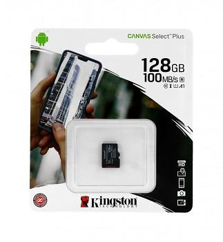Paměťová karta Kingston Canvas Select Plus 128GB micro SDXC bez adaptéru