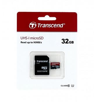 Paměťová karta Transcend Premium 32GB micro SDHC