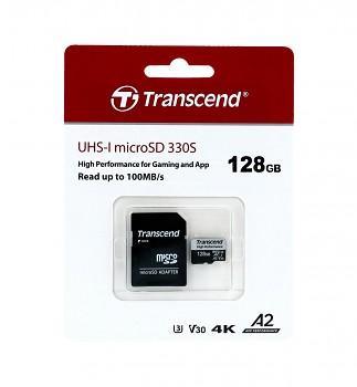 Paměťová karta Transcend High Performance 128GB micro SDXC