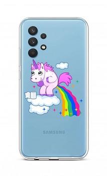 Zadní silikonový kryt na Samsung A32 Rainbow Disaster