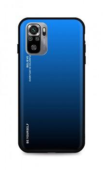 Zadní pevný kryt LUXURY na Xiaomi Redmi Note 10S duhový modrý