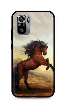 Zadní silikonový kryt DARK na Xiaomi Redmi Note 10S Brown Horse