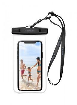 Vodotěsné pouzdro na mobil Spigen průhledné