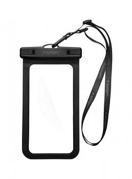 Vodotěsné pouzdro na mobil Spigen černé