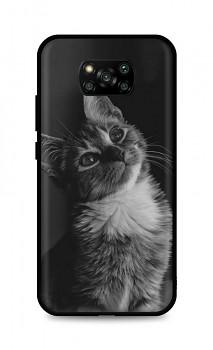 Zadní silikonový kryt DARK na Xiaomi Poco X3 Pro Cute Cat