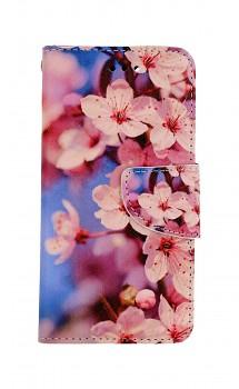 Knížkové pouzdro na iPhone SE 2020 Sakura