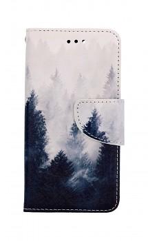 Knížkové pouzdro na iPhone SE 2020 Mlha
