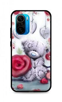 Zadní silikonový kryt DARK na Xiaomi Poco F3 Teddy Bear