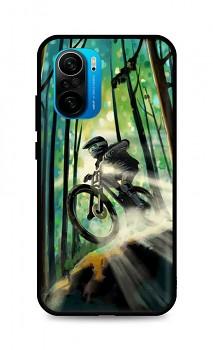 Zadní silikonový kryt DARK na Xiaomi Poco F3 Mountain Bike