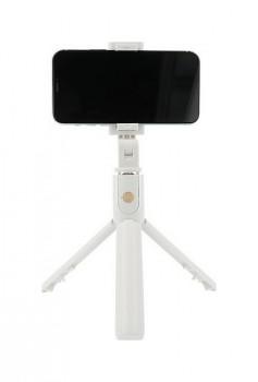 Bluetooth tripod selfie tyč K07 bílá