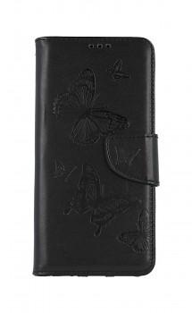 Knížkové pouzdro na Xiaomi Redmi 9A Butterfly černé