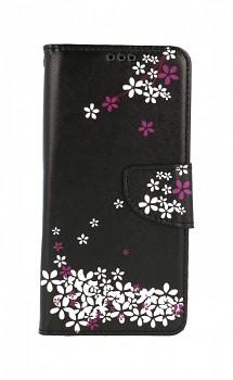 Knížkové pouzdro na Xiaomi Redmi Note 10S Květy sakury