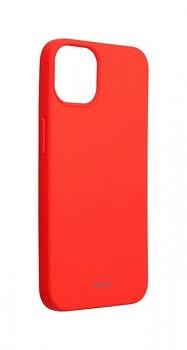 Zadní silikonový kryt Roar na iPhone 13 mini světle růžový