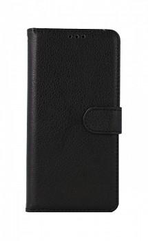 Knížkové pouzdro na Xiaomi Redmi Note 10S černé s přezkou