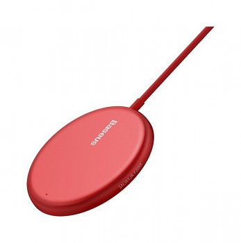 Bezdrátová nabíječka Baseus (WXJK-H09) červená