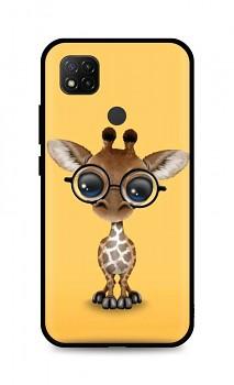 Zadní silikonový kryt DARK na Xiaomi Redmi 9C Cute Giraffe