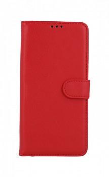 Knížkové pouzdro na Xiaomi Poco X3 Pro červené s přezkou