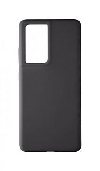 Zadní silikonový kryt Tactical Velvet na Samsung S21 Ultra černý