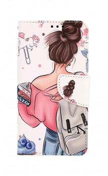 Knížkové pouzdro na iPhone 11 Dívka