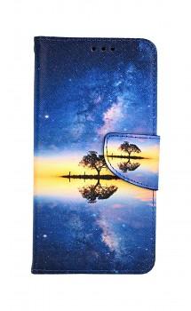 Knížkové pouzdro na iPhone 11 Noční obloha