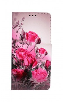 Knížkové pouzdro na Xiaomi Redmi 9 Romantické růže