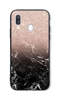 Zadní pevný kryt LUXURY na Samsung A40 Sparkling Marble