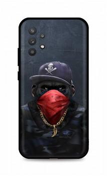 Zadní silikonový kryt DARK na Samsung A32 5G Monkey Gangster