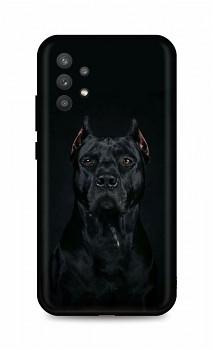 Zadní silikonový kryt DARK na Samsung A32 5G Dark Pitbull