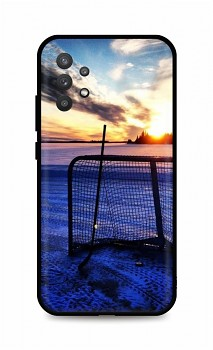 Zadní silikonový kryt DARK na Samsung A32 5G Hockey Sunset
