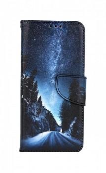 Knížkové pouzdro na Samsung A32 5G Zimní cesta