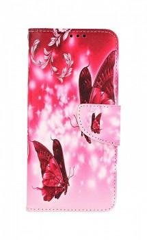 Knížkové pouzdro na Samsung A32 5G Zamilovaní motýlci
