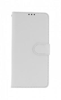 Knížkové pouzdro na Xiaomi Redmi Note 10 5G bílé s přezkou