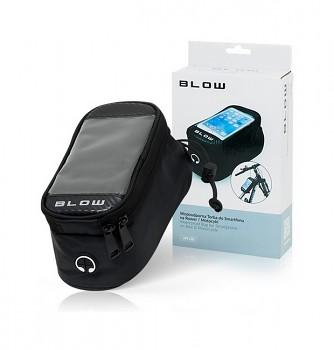 Pouzdro Blow UR-02 pro mobilní telefon na kolo černé