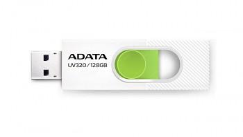Flash disk ADATA UV320 128GB bílý