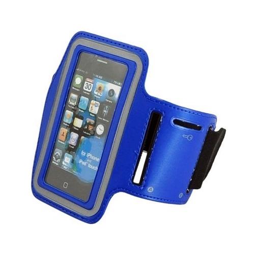Pouzdro na ruku TopQ velikost L modré (sportovní obal velikost L)
