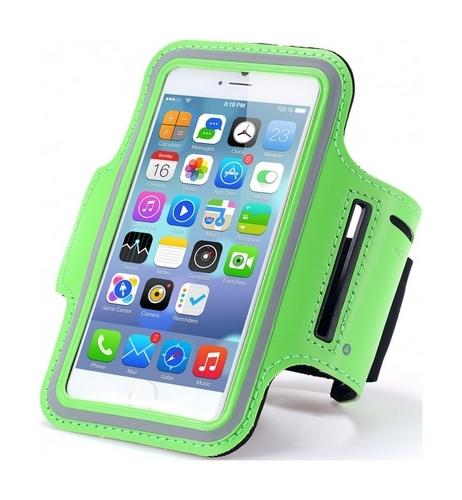 Pouzdro na ruku TopQ velikost L zelené (sportovní obal velikost L)