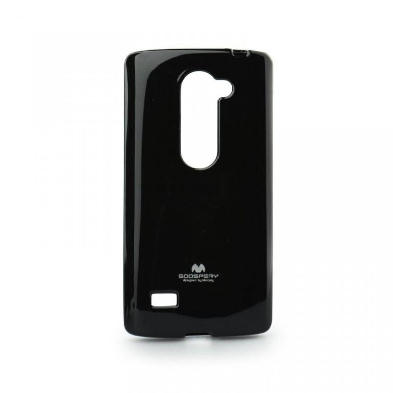 Pouzdro Mercury Jelly Case LG Leon silikon černý (kryt neboli obal na mobil LG Leon H340n)