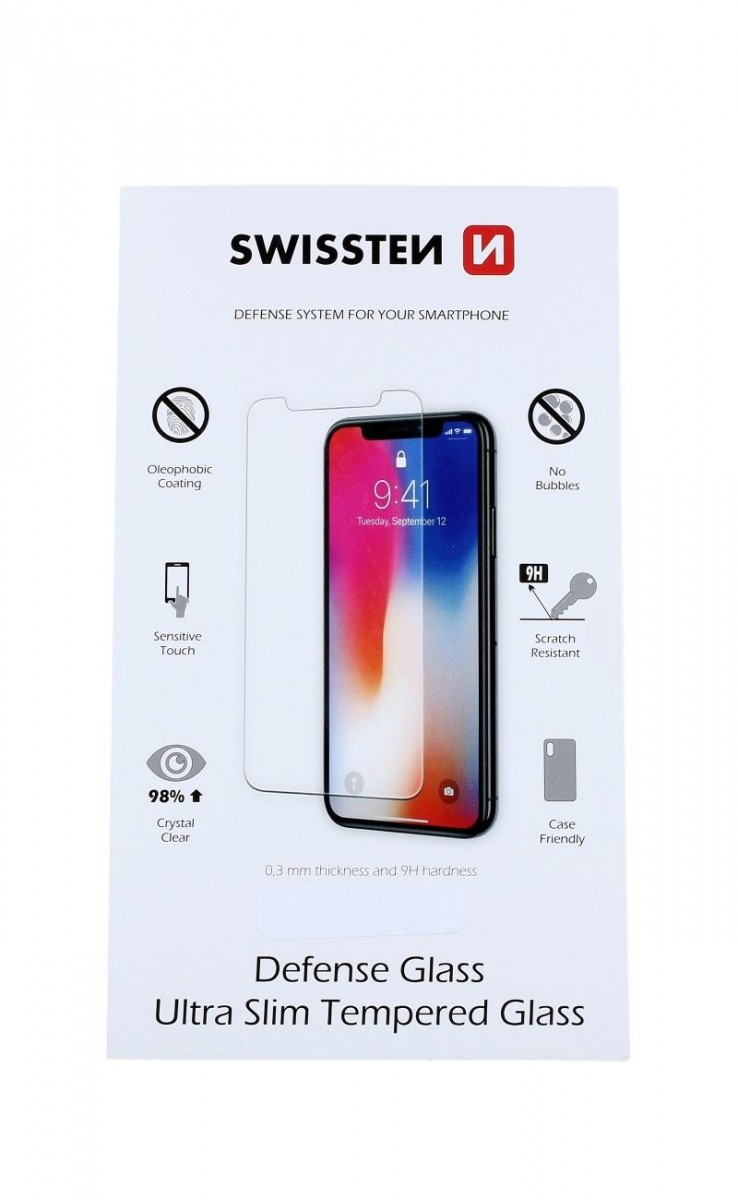 Tvrzené sklo Swissten iPhone 5 / 5s / SE (ochranné sklo na mobil iPhone 5 / 5s / SE) 9468