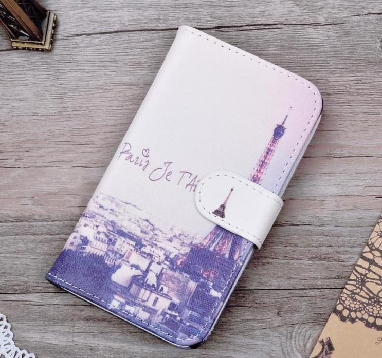 Pouzdro TopQ Lenovo Vibe X3 knížkové Paříž (kryt neboli obal na mobil Lenovo Vibe X3)